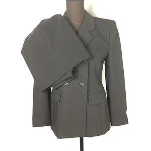 Jones New York Skirt Suit Brown Size 4P/6P